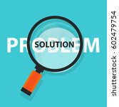 problem solution solving... | Shutterstock .eps vector #602479754