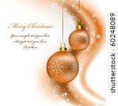 christmas background | Shutterstock .eps vector #60248089