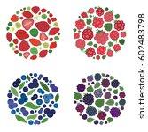 vector illustration of  four... | Shutterstock .eps vector #602483798