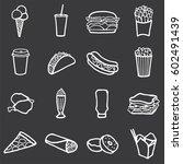 vector illustration of freehand ... | Shutterstock .eps vector #602491439