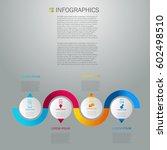 business infographics design... | Shutterstock .eps vector #602498510