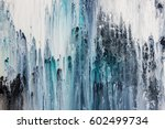 blue and white abstract... | Shutterstock . vector #602499734