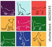 dog series | Shutterstock .eps vector #60250195