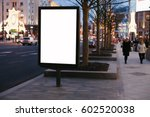 empty mock up banner for your... | Shutterstock . vector #602520038