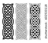 celtic national ornament... | Shutterstock .eps vector #602533118
