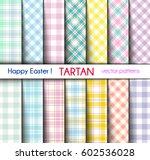 Set Of Fourteen Easter Colors...