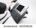 businessman is picking up  ... | Shutterstock . vector #602538236