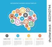 concept of modern business. the ... | Shutterstock .eps vector #602543744