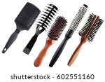 professional combs isolated on... | Shutterstock . vector #602551160