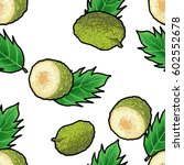 vector seamless pattern with... | Shutterstock .eps vector #602552678