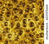 Golden Roses Background   3d...