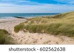 Beautiful Sand Dunes With Ocea...
