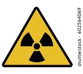 vector illustration toxic sign  ... | Shutterstock .eps vector #602564069