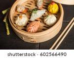 Dim Sum Dumplings. Chinese...