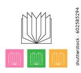 vector book icon | Shutterstock .eps vector #602585294
