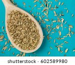 Spoonful Of Dried Fennel Seed...