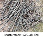 steel bar for building...   Shutterstock . vector #602601428