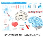 parkinson's disease. elderly... | Shutterstock .eps vector #602602748