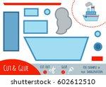 education paper game for... | Shutterstock .eps vector #602612510