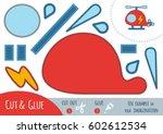 education paper game for... | Shutterstock .eps vector #602612534