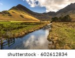 Stream Flows Into Butternere O...