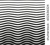 black and white striped lines....   Shutterstock .eps vector #602636324