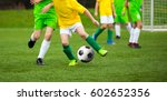 football player running with... | Shutterstock . vector #602652356