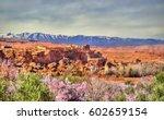 snowy high atlas mountains...   Shutterstock . vector #602659154