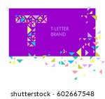 creative logo for the corporate ... | Shutterstock .eps vector #602667548