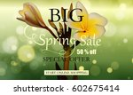 advertisement about the big... | Shutterstock .eps vector #602675414
