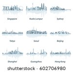 abstract vector illustrations... | Shutterstock .eps vector #602706980