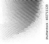 vector halftone dots. abstract... | Shutterstock .eps vector #602711120