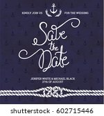 save the date typography.... | Shutterstock .eps vector #602715446