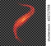 starry red light background....   Shutterstock . vector #602717558