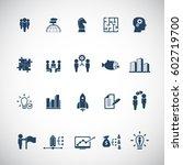 business training  | Shutterstock .eps vector #602719700