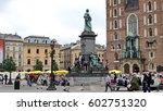 krakow  poland   circa june...   Shutterstock . vector #602751320
