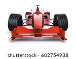 3d race car on white background | Shutterstock . vector #602754938