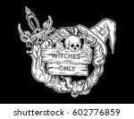 vector illustration of witching ... | Shutterstock .eps vector #602776859