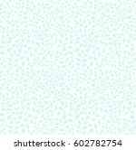 seamless pattern with leaves.... | Shutterstock .eps vector #602782754