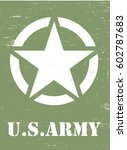us army symbol | Shutterstock .eps vector #602787683
