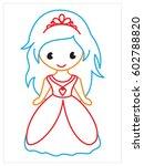 vector coloring book of of...   Shutterstock .eps vector #602788820