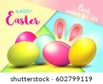 easter. | Shutterstock .eps vector #602799119