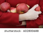 Arm Full Of Apples