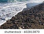 Small photo of The Aegean Sea. Coast of the Aegean Sea on a Greek island of Kos.