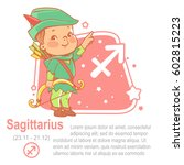 children's horoscope icon. kids ... | Shutterstock .eps vector #602815223
