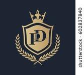 pd logo | Shutterstock .eps vector #602837840