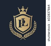 pl logo | Shutterstock .eps vector #602837864