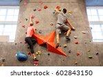 fitness  extreme sport ... | Shutterstock . vector #602843150