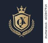 qx logo | Shutterstock .eps vector #602847914