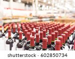 blurred and close up view group ... | Shutterstock . vector #602850734
